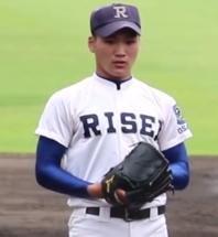山口裕次郎投手(履正社)2