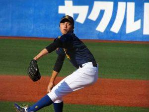 田中正義投手(創価大)2