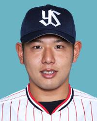 西田明央選手(ヤクルト)2