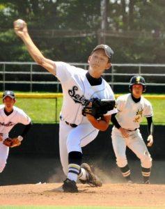 谷岡竜平投手(成立学園)